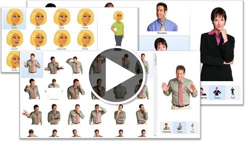 galeria postaci w szkoleniach e-learningowych