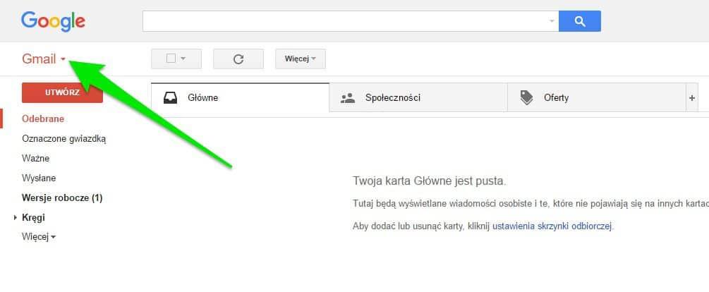 gdzie-kontakty Jak znaleźć kontakty w Gmailu?