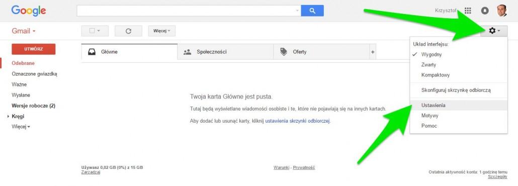 ustawienia-gmail-1030x370 Jak znaleźć kontakty w Gmailu?