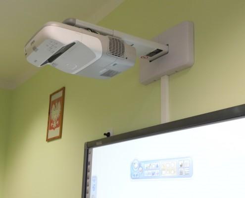 projektor epson z tablicą iboard
