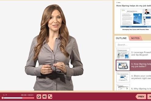 Program do tworzenia szkoleń e-learningowych iSpring Suit 7