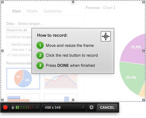 nagrywanie zawartości ekranu