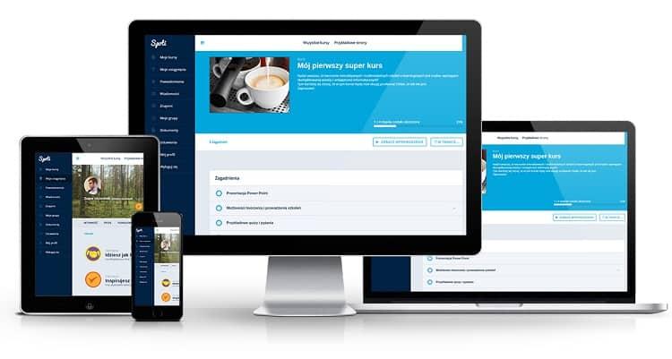 platforma e-learningowa jest dostęţpna na każdym urządzeniu