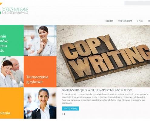 Strona internetowa Dobrze napisane