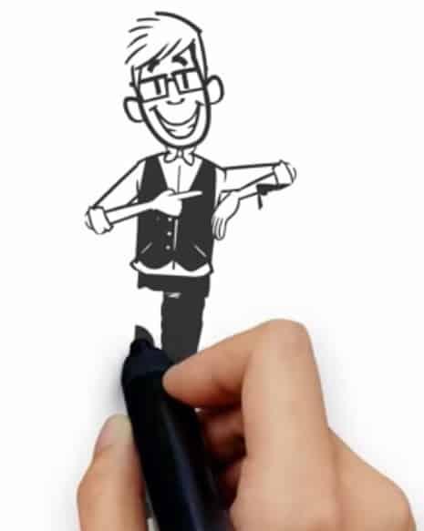 animowany-film-reklamowy-rysunek Animowany film reklamowy promujący projekt Przystanek Sukces
