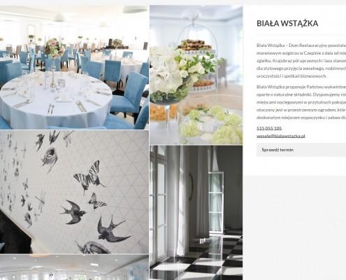 biala-wstazka-495x400 Dom restauracyjny Biała wstążka