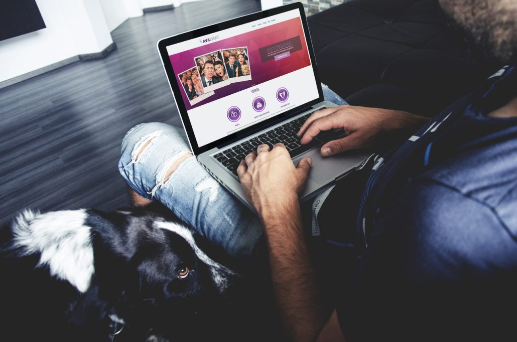 Strona internetowa dla Avaevent - Fotobudka