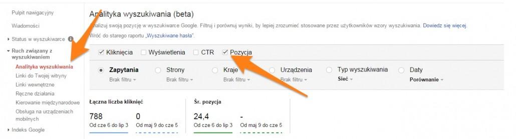 monitorowanie-pozycji-1030x278 Jak bezpłatnie sprawdzać pozycję strony w Google?