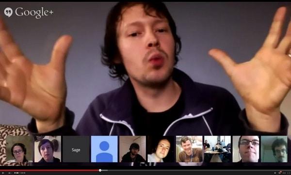 uczestnicy-google-hangout Wybierz właściwy typ szkolenia e-learningowego, część 1: webinary.