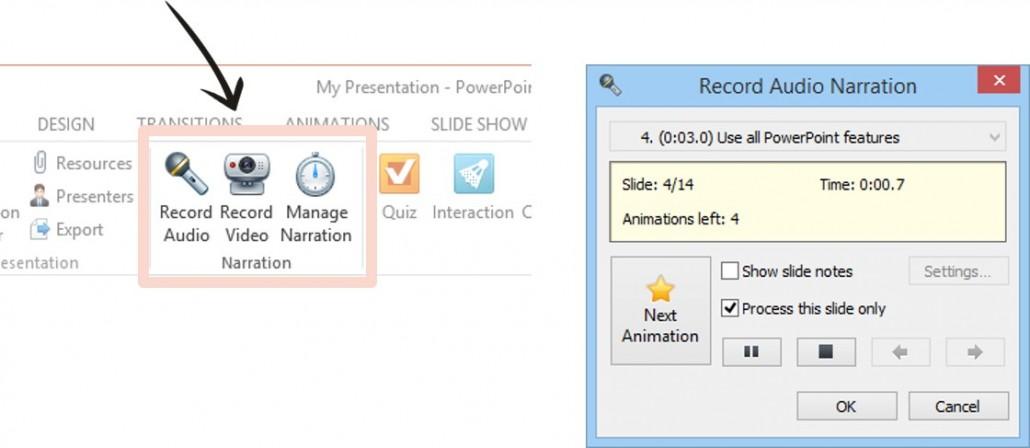 nagrywanie-narracji-1030x448 Jak przygotować szkolenie e-learningowe w Power Point za pomocą iSpring Suite?
