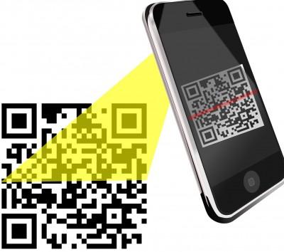 kod-qr-skanowanie-400x354 Jak wykorzystać kody QR w działaniach marketingowych?