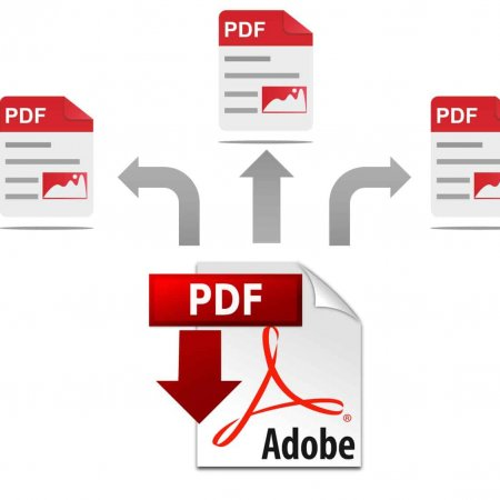 Plik pdf dzielony na kilka osobnych plików