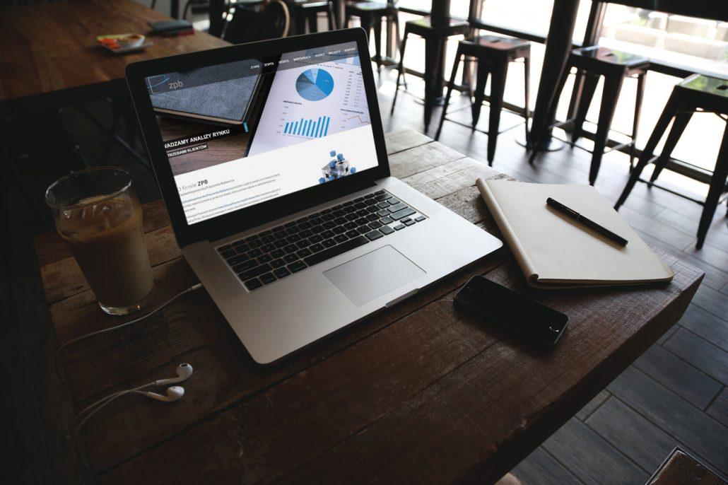 Strona internetowa dla Zachodniopomorskiej Pracowni Badawczej