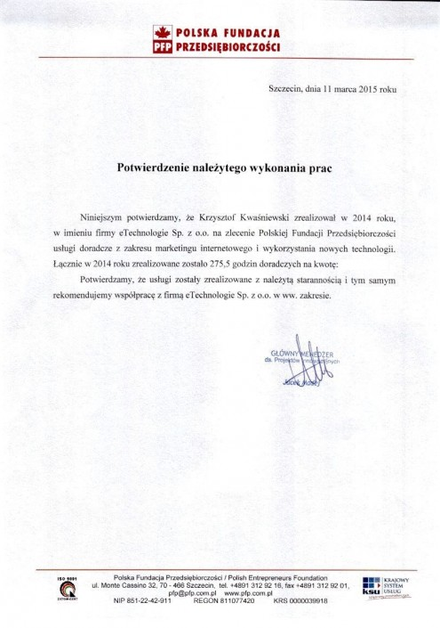 PFP list referencyjny