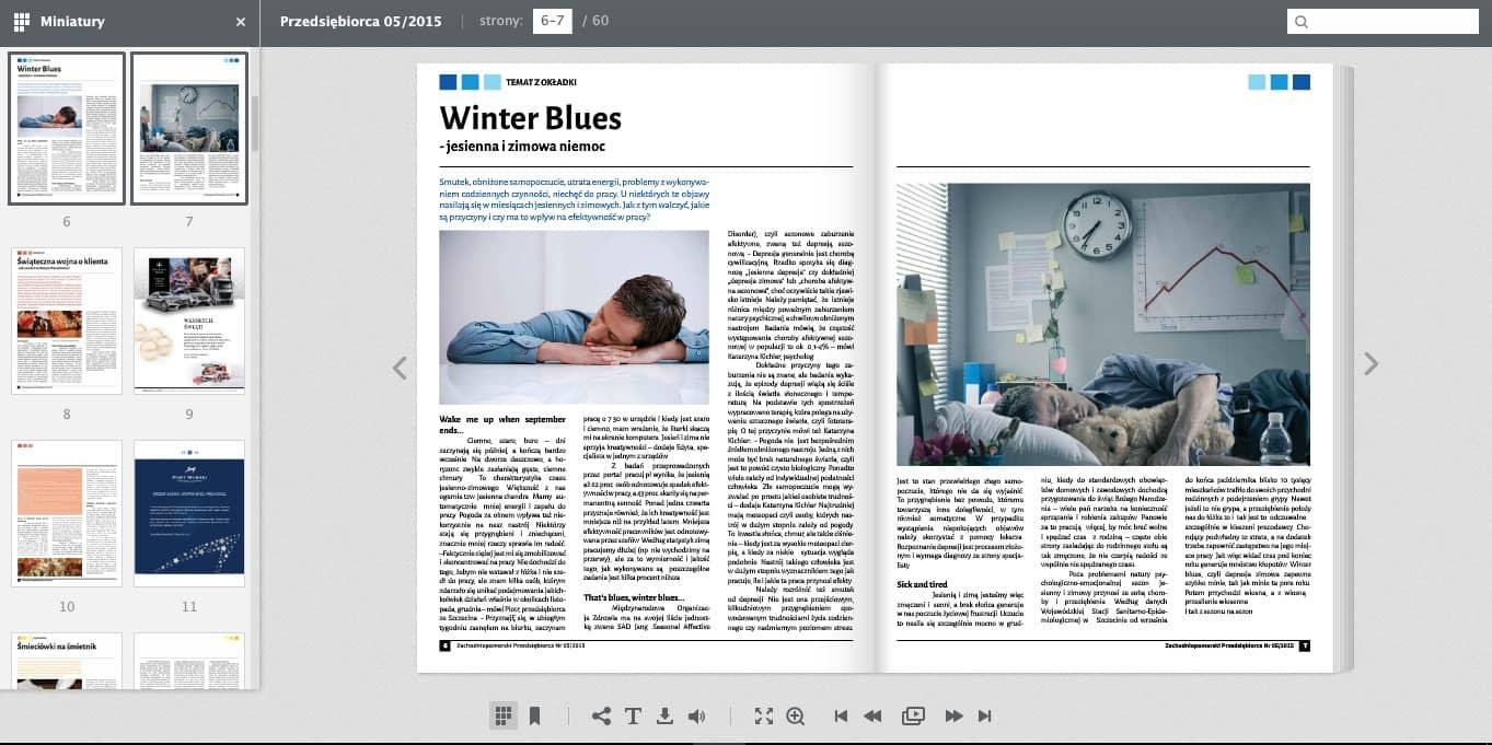 wykaz-stron Nowy płaski design naszych interaktywnych publikacji
