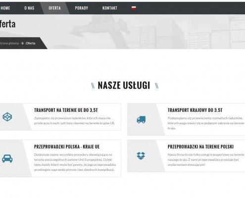 strona-internetowa-firma-transportwa-495x400 Firma transportowa MAXPOWER