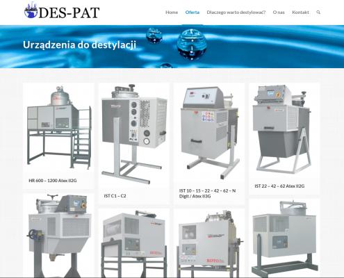 des2-495x400 DES-PAT Urządzenia do destylacji i myjki przemysłowe