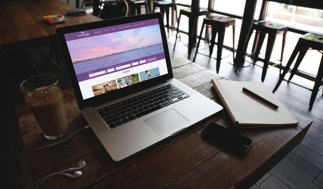 strona internetowa dla pensjonatu landrynka