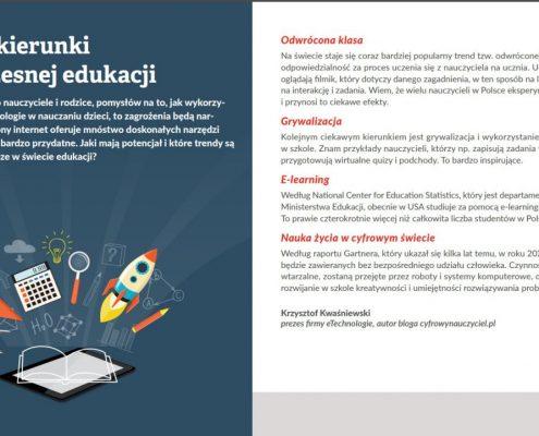 raport nowoczesna edukacja