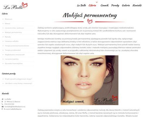 opisuslugilabelle-495x400 La Belle Gabinet kosmetyczny