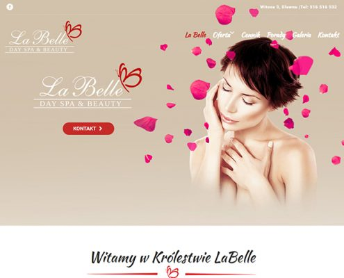 stronaglownalabelle-495x400 La Belle Gabinet kosmetyczny