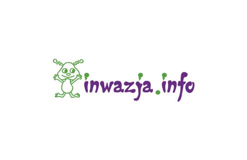 Projekt strony internetowej dla Inwazja.info