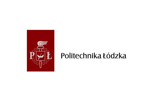 Zdjęcie przedstawia logo Politechniki Łódzkiej