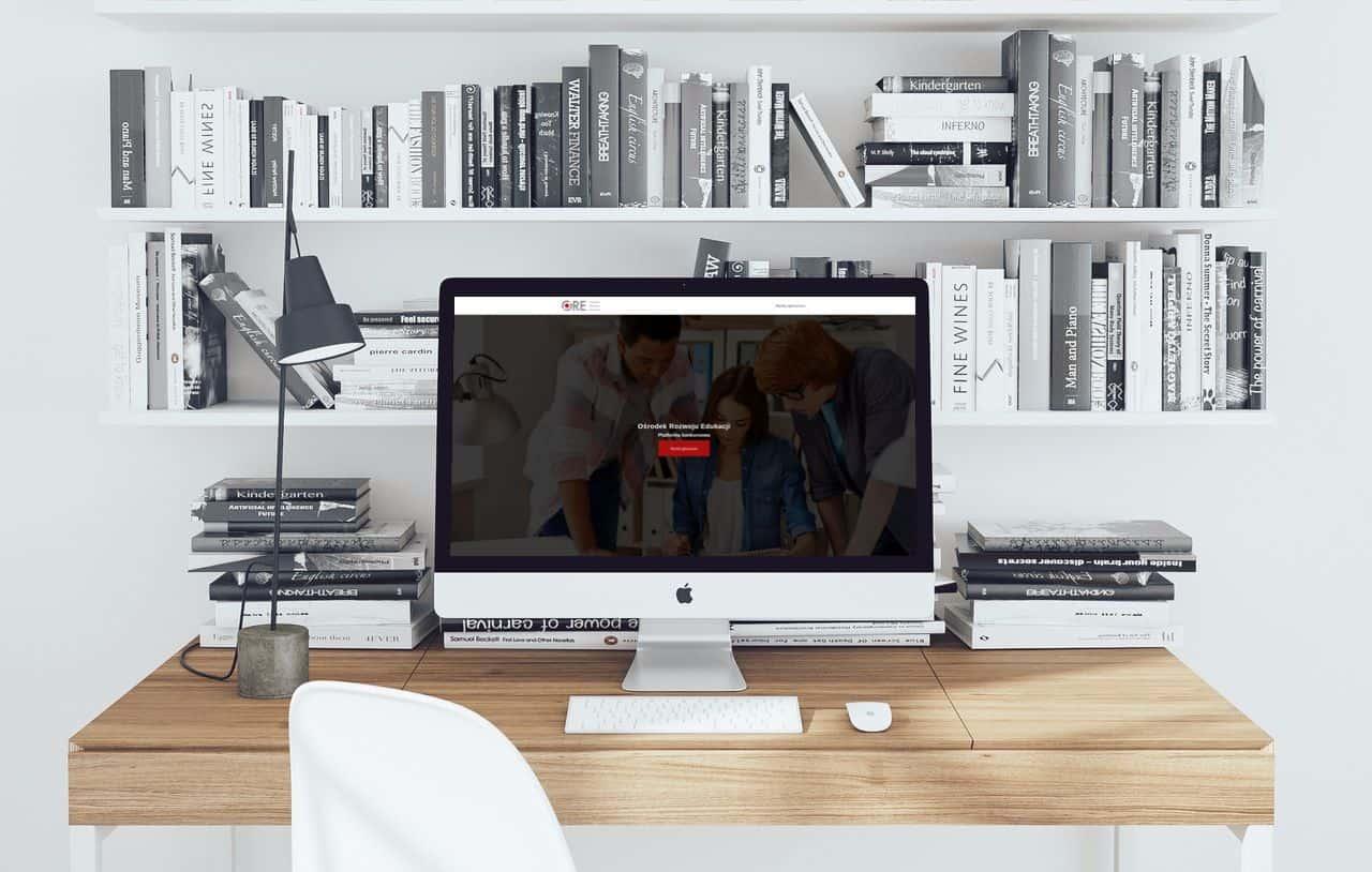 Zdjęcie przedstawia platformę konkursową ORE