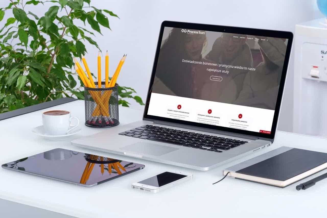 zrzut-processteam PROCESSTEAM - strona dla firmy szkoleniowej