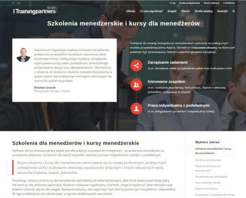 Trenerzy-strona-informacyjna-495x400 Trenerzy.pl - strona dla firmy szkoleniowej