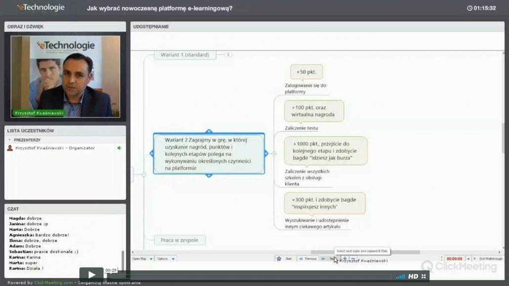 nagranie-webinaru-1030x579 10 pomysłów na szybkie przygotowanie szkolenia e-learningowego na platformie Spoti