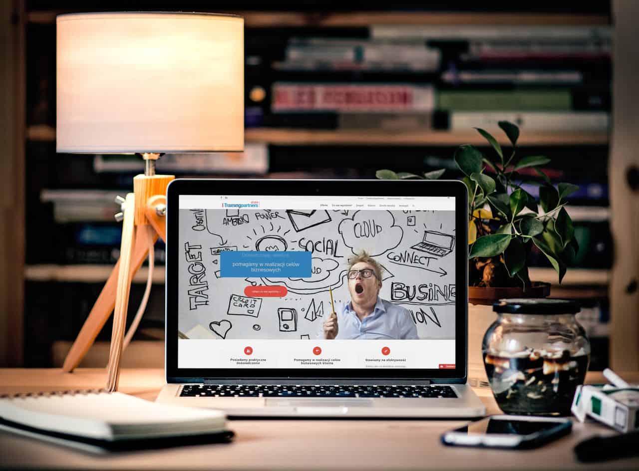 Wizualizacja strony Trenerzy.pl