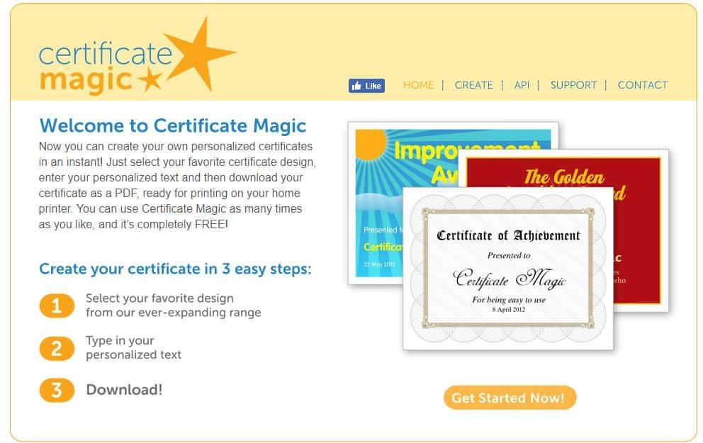 certyficate-magic Jak samodzielne przygotować certyfikaty lub zaświadczenia potwierdzające ukończenia szkolenia?