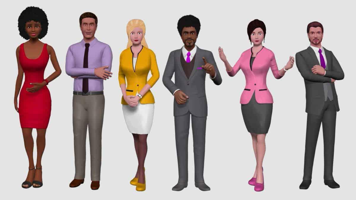 awatary_001 Nowość: szkolenia e-learningowe z wykorzystaniem wirtualnych avatarów 3D