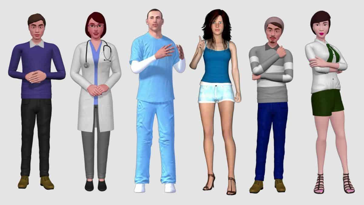 awatary_002 Nowość: szkolenia e-learningowe z wykorzystaniem wirtualnych avatarów 3D