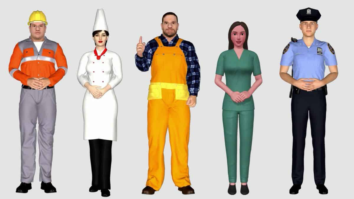 awatary_003 Nowość: szkolenia e-learningowe z wykorzystaniem wirtualnych avatarów 3D