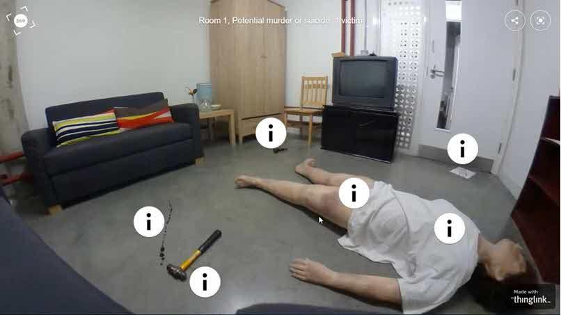 miejsce-zbrodni Przykłady wykorzystania VR 360 w szkoleniach e-learningowych
