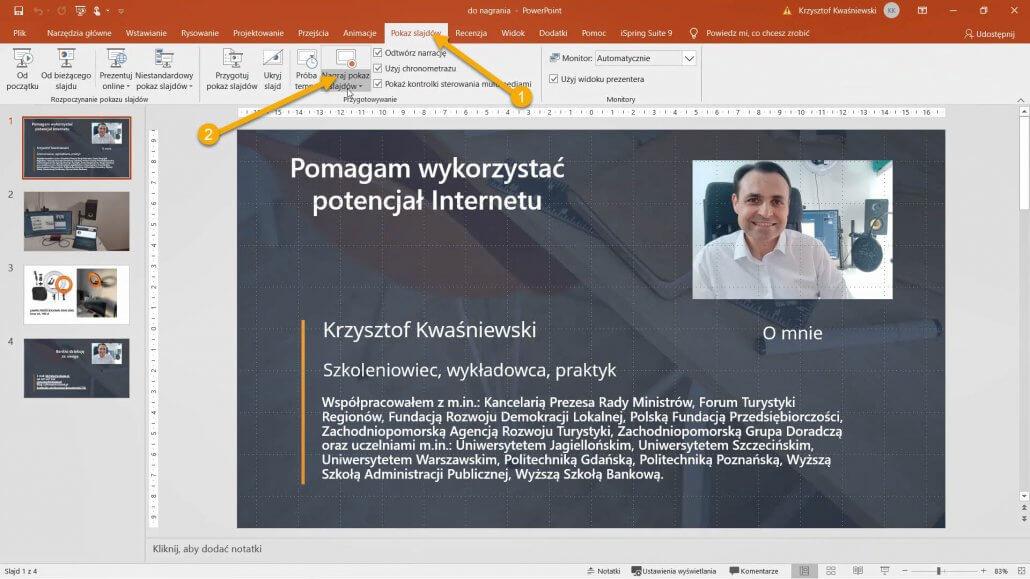01-1030x579 Jak nagrywać szkolenia i wykłady wideo w Power Point?