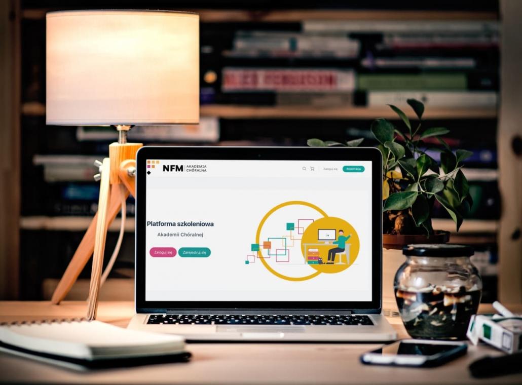 nfm-logowanie-1030x760 Wdrożenie platformy e-learningowej Spoti dla Narodowego Forum Turystyki