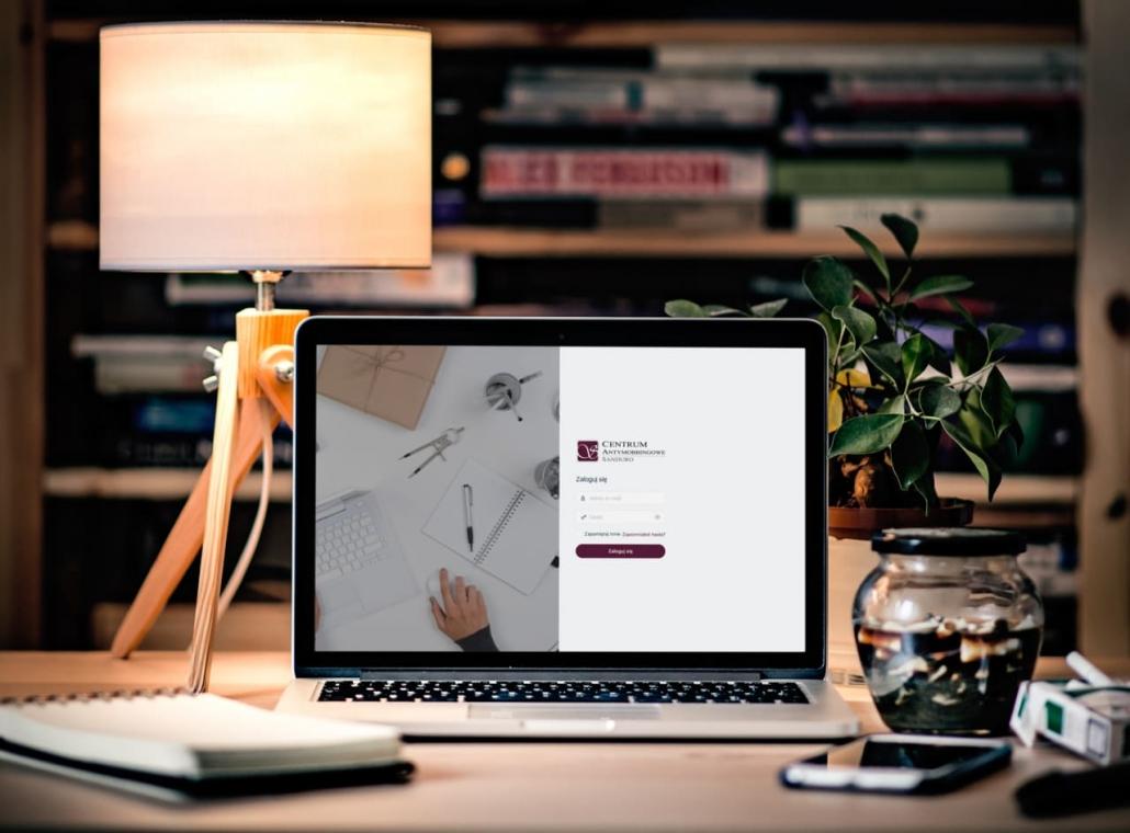 sanduro-mobbing-logowanie-1030x760 Platforma e-learningowa dla Centrum Antymobbingowe Sanduro
